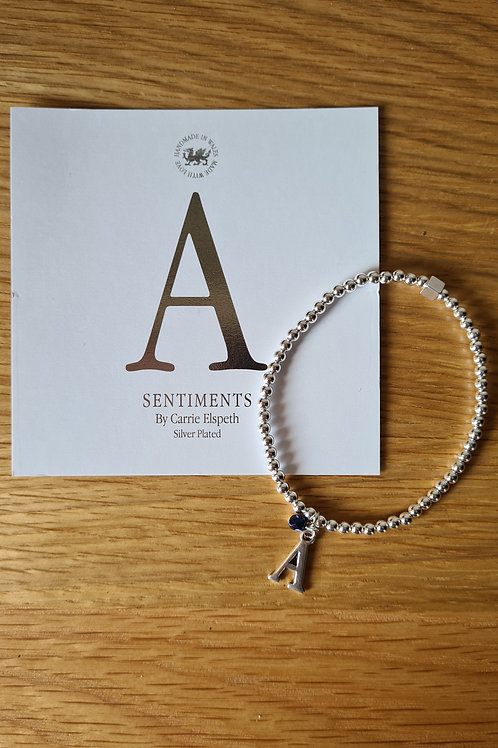 Carrie Elspeth Initial Bracelets     DIFFERENT INITIALS AVAILABLE IF IN STOCK