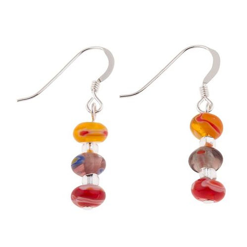 Millefiori Earrings (matching items available if in stock )