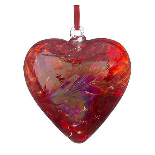 Friendship hearts 8cm. Assorted colours