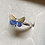 Thumbnail: Dainty Butterfly Ring in Sterling Silver.