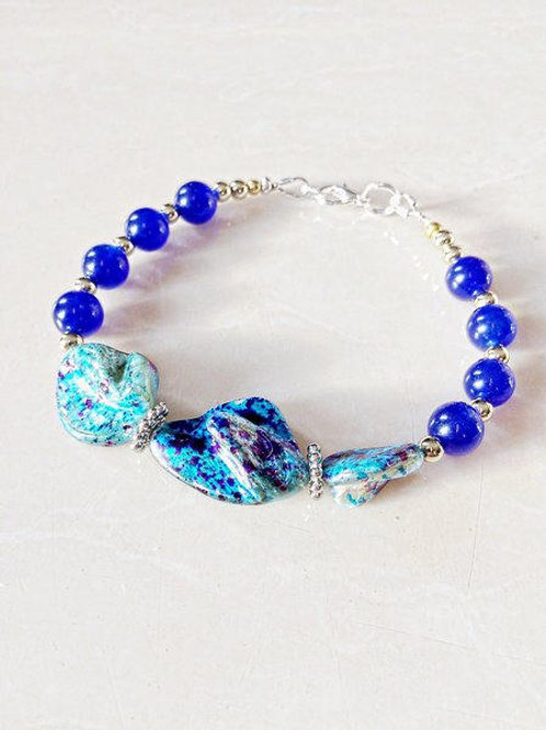 Turquoise Mother of Pearl Bracelet