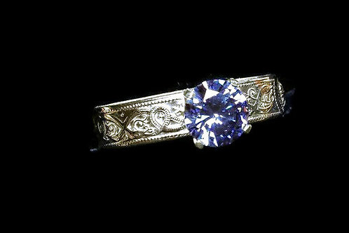 The Blue Moon Iolite Ring  (ONLY ONE)