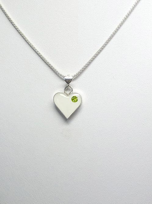 Dainty Heart Breastmilk Pendant Necklace