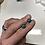 Thumbnail: Black Peacock Opal Stud Earrings