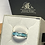 Thumbnail: Sterling Silver Genuine Turquoise Inlay Ring