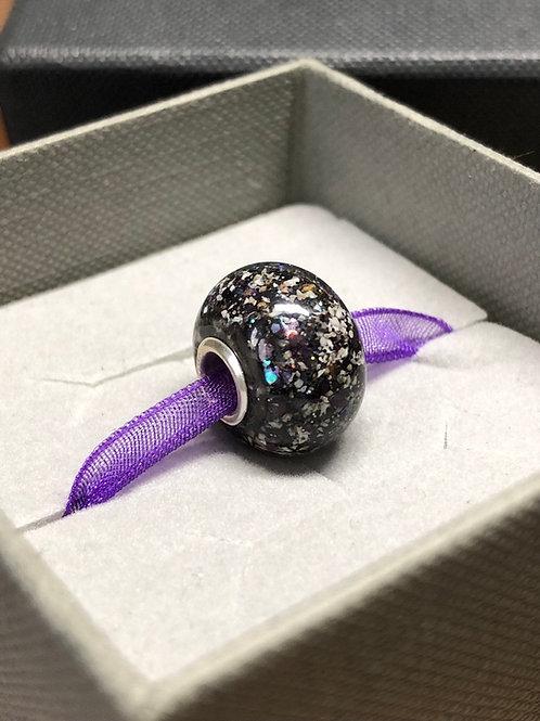 Cremation Ashes Memorial Bead. Pandora Style European Memorial Bead
