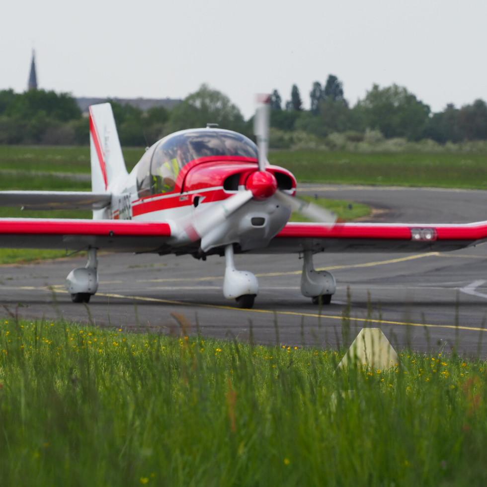 Le DR400 135cdi de Dogneville LFSE