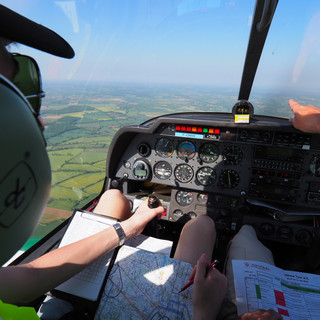 Navigation à bord du DR400 école