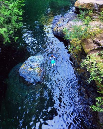 Englishman Falls Provincial Park