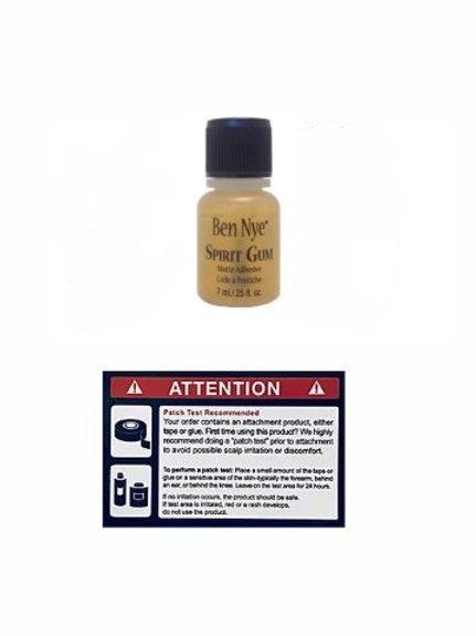 0.25oz Ben Nye Spirit Gum Adhesive Glue 髮片膠水
