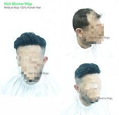 Hair blooms wigs, 假髮片, 香港假髮