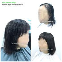 Hair Blooms Wigs, women's hairpiece for hair loss and hair thinning, Hong Kong Causeway Bay, 真髮假髮, 醫療假髮, 女士髮片, 遮掩白髮, 脫髮, 頭髮稀疏, 香港, 銅鑼灣