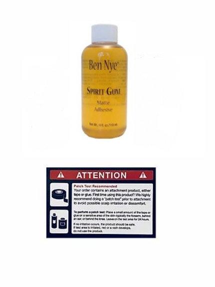 Ben Nye Spirit Gum Adhesive Glue 髮片膠水 (4oz)