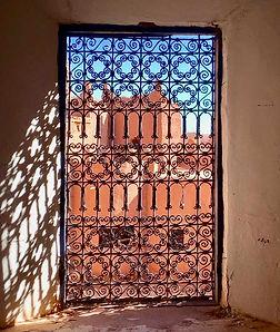 Zandvis Marokko Reizen Raam Kasbah Ouarz