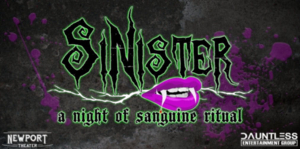SiNister: a night of sanguine ritual