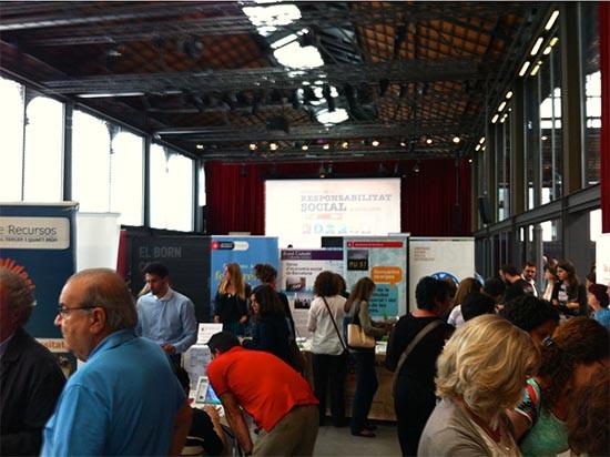 Sala de conferencias de la Setmana responsabilitat social BCN, catalunya