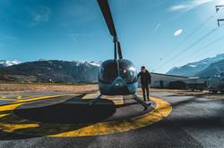Find heli photo shooting