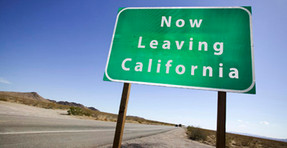 """Wealth Out-Migration from California increased 41% following State's tax hike on """"The Rich"""""""
