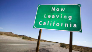 "Wealth Out-Migration from California increased 41% following State's tax hike on ""The Rich"""