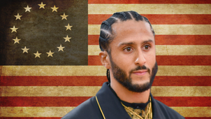 It's out of pure hatred for America that Nike would drop the Betsy Ross flag