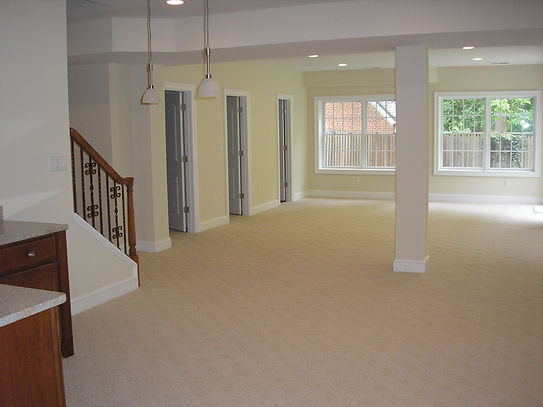 Open useful space for basement