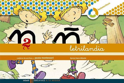 LETRILANDIA 2 PAUTA 09 ESPIRAL EDELEN09EI