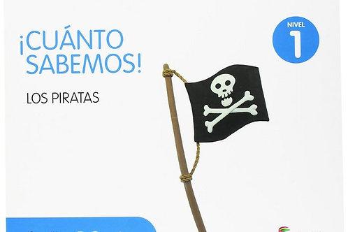 ¡Cuánto sabemos! Los piratas. Nivel 1