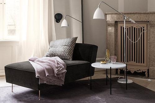 Gubi modern line chaise lounge