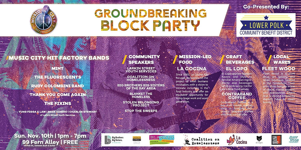 Music City Hit Factory Groundbreaking Block Party