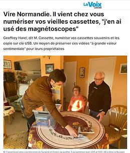 Article La voix le bocage chez Mme Jaqueline.PNG