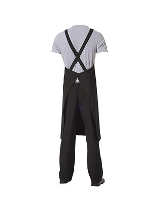 Crossover Apron with Pocket