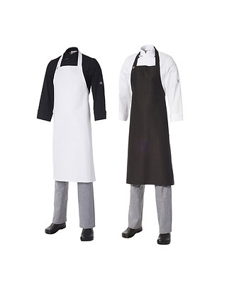 Bib Apron Heavyweight Cotton - Large No Pocket