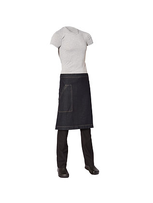 Medium Denim Apron with pocket