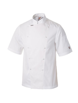 Metal Chef Jacket Short Sleeves