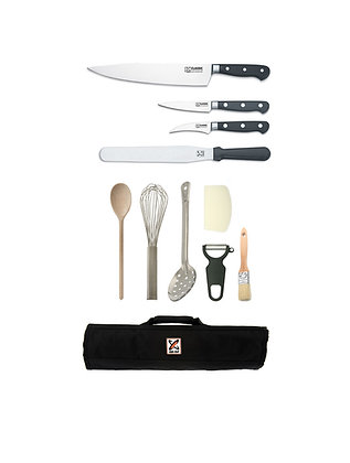 11 Piece Chef Starter Kit- Forged 25cm Cooks