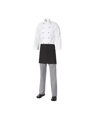 Short Apron With Pocket