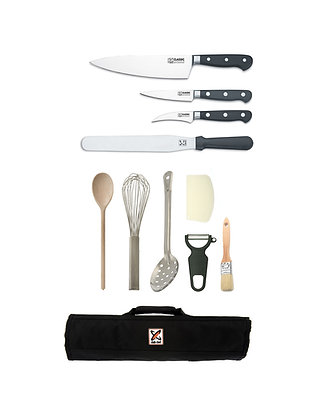 11 Piece Chef Starter Kit- Classic Forged
