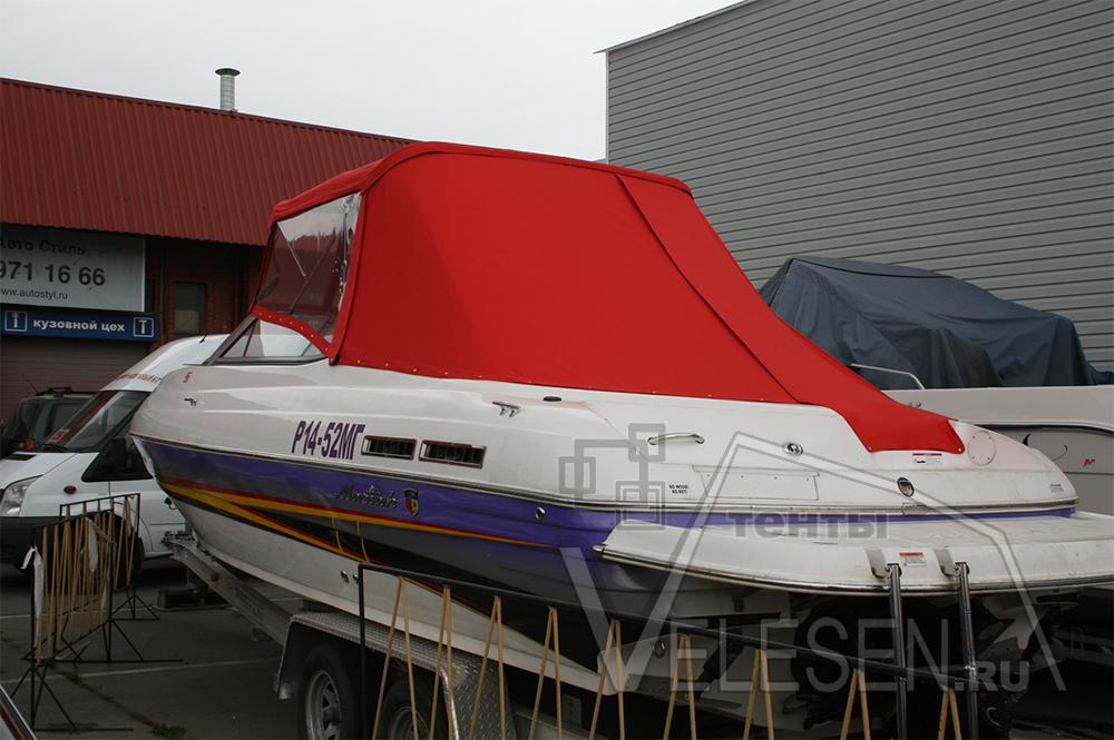 Ходовой тент на яхту