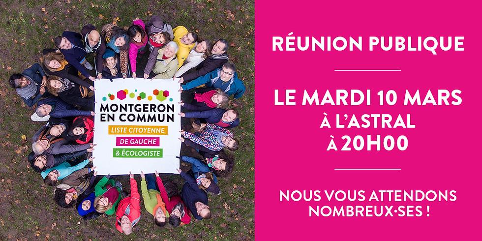 Réunion publique Montgeron en Commun