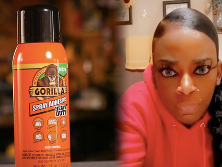 Gorilla Glue Girl Shocks the Internet!