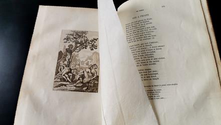 Alexis Piron  ŒUVRES BADINES  Imprimé par les presses de la Société, Neuchâtel,  1872  650 €
