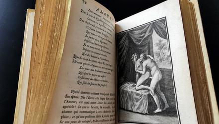 Jean de La Fontaine  Les amours de Psyché et de Cupidon; Adonis.  Paris, veuve Pissot, 1744  VENDU