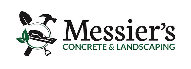 Messiers Concrete & Landscaping Logo (dr