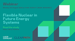 Webinar: Flexible Nuclear in Future Energy Systems