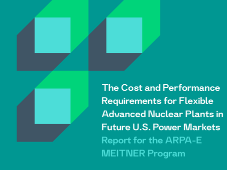 LucidCatalyst study is first to derive highest allowable capital cost for advanced reactors
