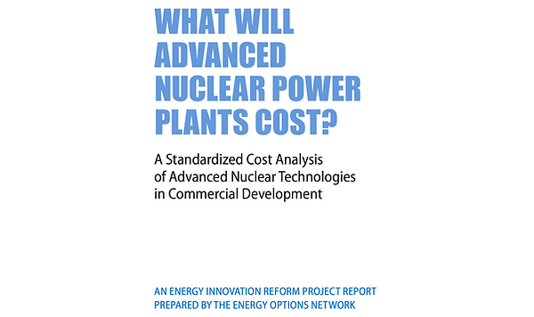 What will advanced nuclear plants cost.p