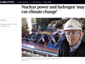 Nuclear power and hydrogen 'may cut climate change'