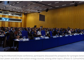 IAEA Climate Conference Ends with Call for Major Nuclear Role