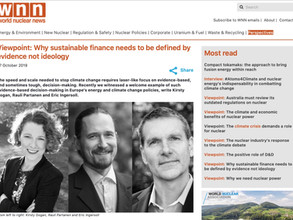 Viewpoint: Why sustainable finance needs to be defined by evidence not ideology