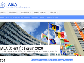 Nuclear Key to the Clean Energy Transition – Conclusions of the 2020 IAEA Scientific Forum